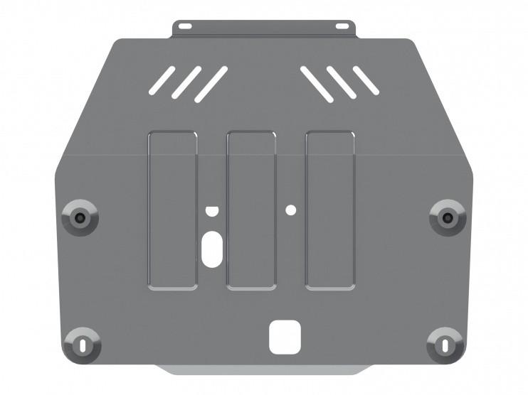 Защита картера и КПП алюминий 4 мм Шериф 16.2634 Opel Mokka 2012–
