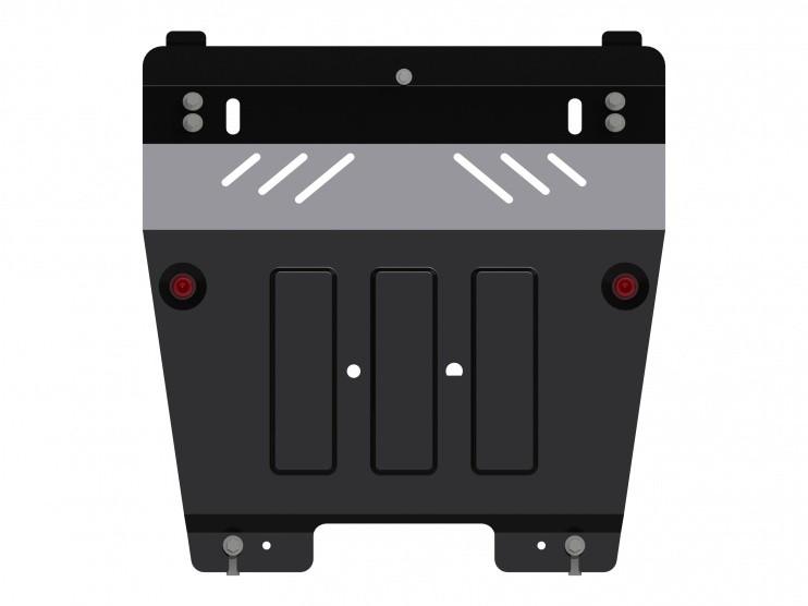 Защита картера и КПП сталь 2 мм Шериф 18.2219 V2 Renault Duster 2012–