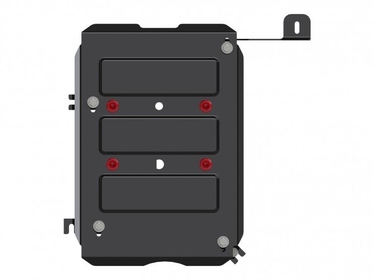 Защита топливного бака сталь 2 мм Шериф 18.2503 Renault Duster 2012–