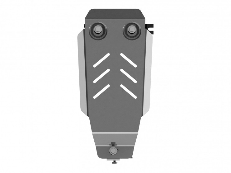 Защита редуктора алюминий 5 мм Шериф 18.2542 Renault Duster 2012–