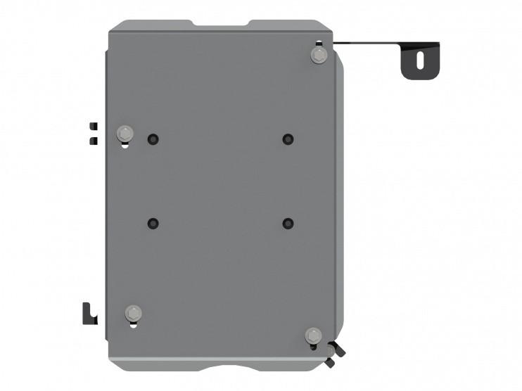 Защита топливного бака алюминий 5 мм Шериф 18.2606 Renault Duster 2012–