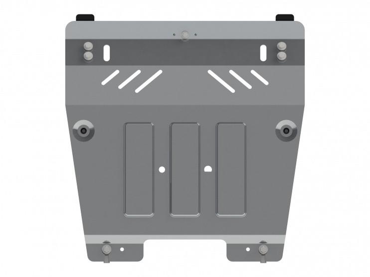 Защита картера и КПП алюминий 4 мм Шериф 18.2766 Renault Duster 2012–