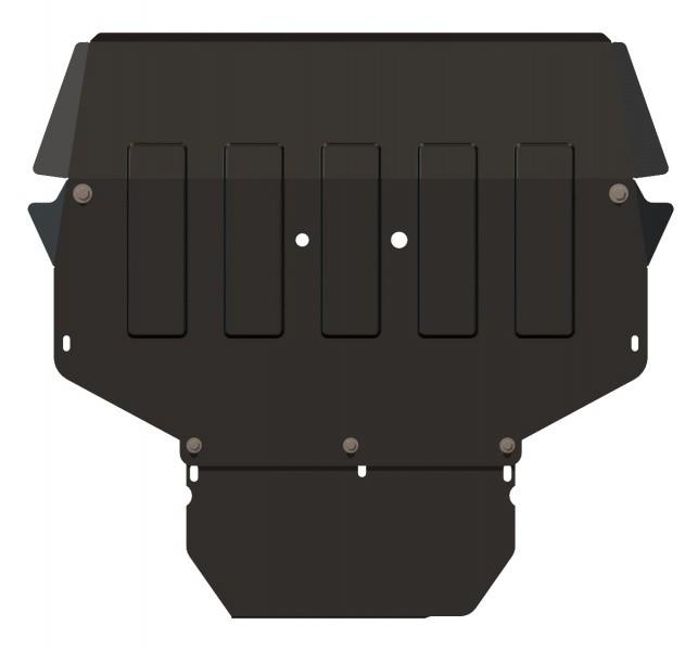 Защита картера и КПП сталь 2 мм Шериф 21.0780 Skoda Roomster сборка Чехия 2007–2009