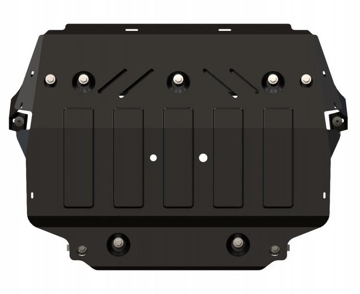Защита картера и КПП сталь 2 мм Шериф 21.1988 Skoda Octavia A5 (FL/Scout) 2008–2013