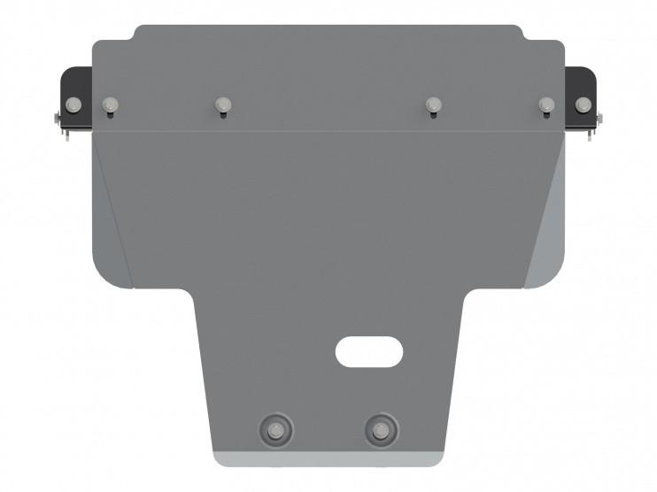 Защита картера алюминий 5 мм Шериф 22.2477 Subaru XV 2011–
