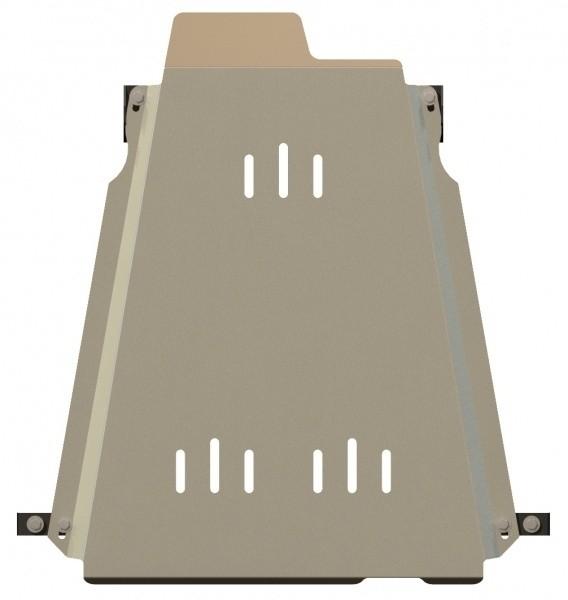 Защита КПП и РК алюминий 5 мм Шериф 23.1192 Suzuki Jimny 2003–