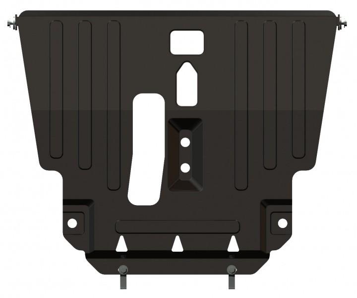 Защита картера и КПП сталь 2 мм Шериф 24.0481 Toyota Avensis 2002–2008