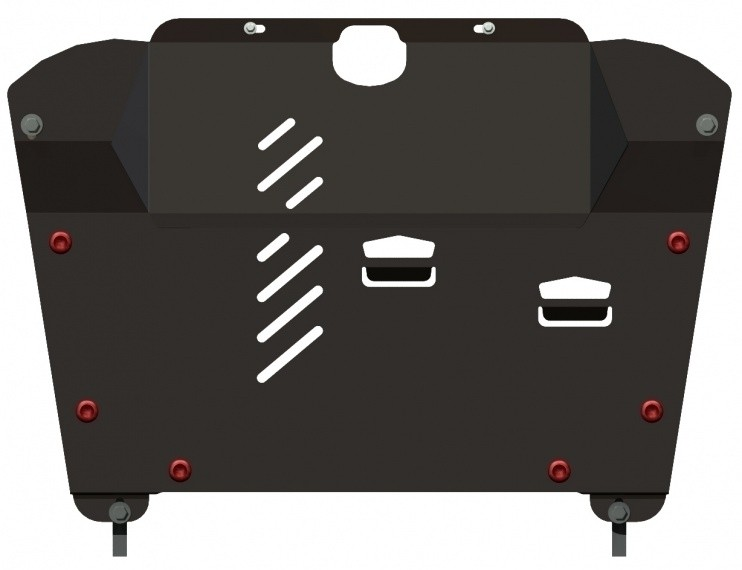 Защита картера и КПП сталь 2 мм Шериф 24.0505 Lexus RX300/330/350 2003–2008