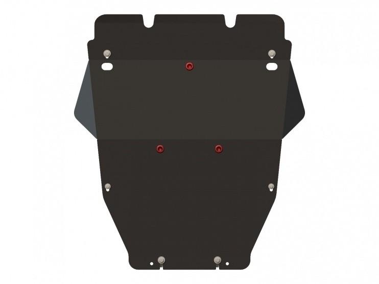 Защита картера сталь 2 мм Шериф 24.0840 Toyota MarkX 2004–2009