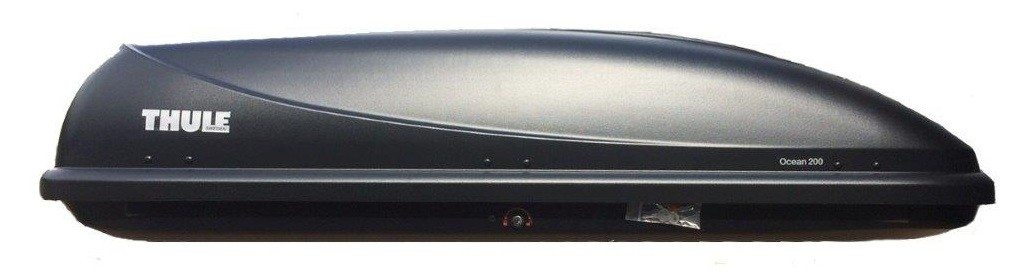 Thule 690013 автобокс Ocean 200 черный 175x82x45 см