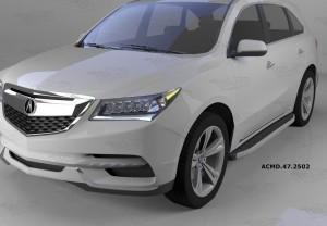 Can Otomotiv ACMD.47.2502 пороги алюминиевые (Alyans) Acura MDX (2014-)