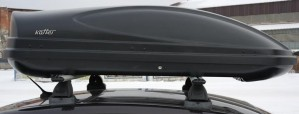 Koffer A-430 автобокс черный матовый 178х76х45 см