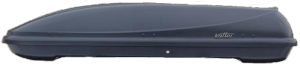 Koffer T-600 автобокс черный матовый 187х63x37 см