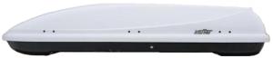 Koffer T-600 автобокс белый глянцевый 187х63x37 см