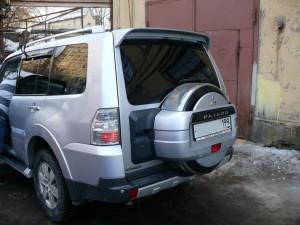 Руссталь бокс запасного колеса на Mitsubishi Pajero 2, 3, 4