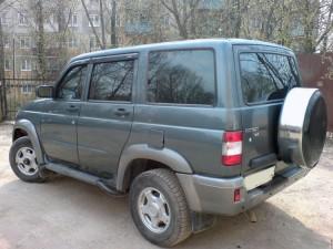 Руссталь бокс запасного колеса на УАЗ Патриот
