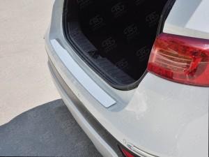 Руссталь BV5N-002705 накладка на задний бампер (лист нерж зеркальный) на Brilliance V5 2014-
