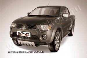 Slitkoff ML011 защита картера Mitsubishi L-200 Triton
