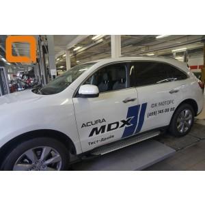 Can Otomotiv ACMD.51.2502 пороги алюминиевые (Sapphire Silver) Acura MDX (2014-)