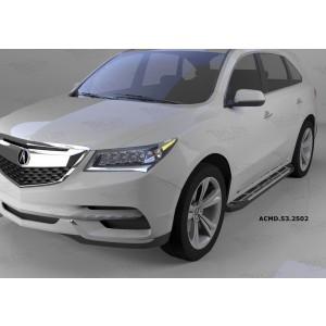Can Otomotiv ACMD.53.2502 пороги алюминиевые (Corund Silver) Acura MDX (2014-)