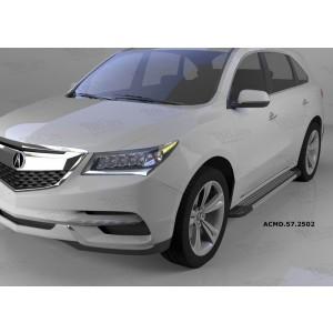 Can Otomotiv ACMD.57.2502 пороги алюминиевые (Topaz) Acura MDX (2014-)
