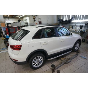 Can Otomotiv AUQ3.47.3325 пороги алюминиевые (Alyans) Audi Q3 (2011-)