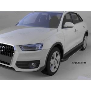 Can Otomotiv AUQ3.52.3325 пороги алюминиевые (Onyx) Audi Q3 (2011-)