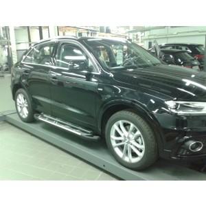 Can Otomotiv AUQ3.53.3325 пороги алюминиевые (Corund Silver) Audi Q3 (2011-)