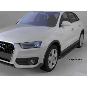 Can Otomotiv AUQ3.54.3325 пороги алюминиевые (Sapphire Black) Audi Q3 (2011-)