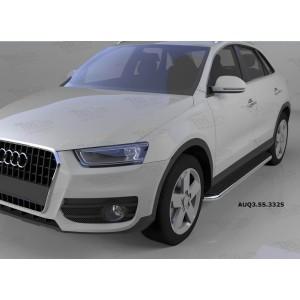 Can Otomotiv AUQ3.55.3325 пороги алюминиевые (Ring) Audi Q3 (2011-)