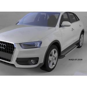 Can Otomotiv AUQ3.57.3325 пороги алюминиевые (Topaz) Audi Q3 (2011-)