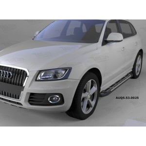 Can Otomotiv AUQ5.53.0025 пороги алюминиевые (Corund Silver) Audi Q5 (2009-)