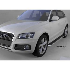 Can Otomotiv AUQ5.55.0025 пороги алюминиевые (Ring) Audi Q5 (2009-)