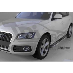 Can Otomotiv AUQ5.59.0025 пороги алюминиевые (Zirkon) Audi Q5 (2009-)
