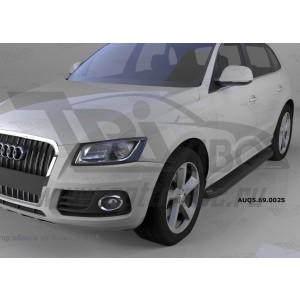 Can Otomotiv AUQ5.69.0025 пороги алюминиевые (Corund Black) Audi Q5 (2009-)