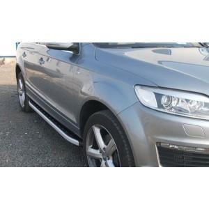 Can Otomotiv AUQ7.47.0025 пороги алюминиевые (Alyans) Audi Q7 (2009-2015) (нагр. до 40 кг.)