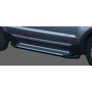 Can Otomotiv AUQ7.51.0025 пороги алюминиевые (Sapphire Silver) Audi Q7 (2009-2015) (нагр. до 40 кг.)