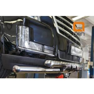 Can Otomotiv CAES.33.3347 защита переднего бампера Cadillac Escalade (2014-) (Shark) d 76