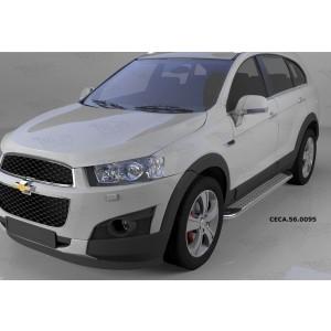 Can Otomotiv CECA.56.0095 пороги алюминиевые (Opal) Chevrolet Captiva (2006-2010-)