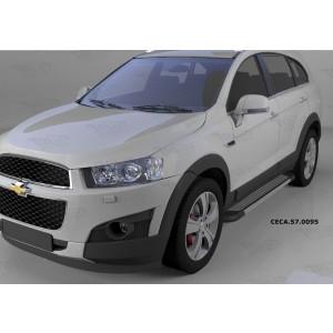 Can Otomotiv CECA.57.0095 пороги алюминиевые (Topaz) Chevrolet Captiva (2006-2010-)