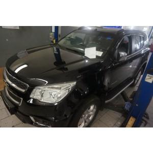 Can Otomotiv CETB.47.0092 пороги алюминиевые (Alyans) Chevrolet TrailBlazer (2013-)