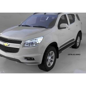 Can Otomotiv CETB.52.0092 пороги алюминиевые (Onyx) Chevrolet TrailBlazer (2013-)