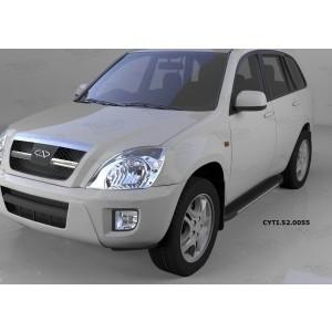 Can Otomotiv CYTI.52.0055 пороги алюминиевые (Onyx) Chery Tiggo (2006-)