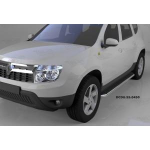 Can Otomotiv DCDU.55.0450 пороги алюминиевые (Ring) Nissan Terrano (2014-)