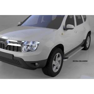 Can Otomotiv DCDU.56.0450 пороги алюминиевые (Opal) Nissan Terrano (2014-)