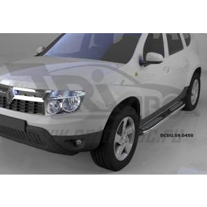Can Otomotiv DCDU.59.0450 пороги алюминиевые (Zirkon) Nissan Terrano (2014-)
