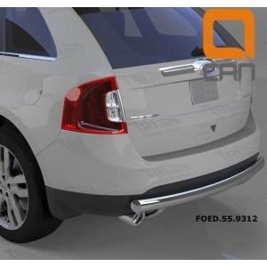 Can Otomotiv FOED.55.9312 защита заднего бампера Ford Edge (2014-) (одинарная) d 76
