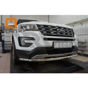 Can Otomotiv FOEX.33.9302 защита переднего бампера Ford Explorer (2015-) (одинарная) d60