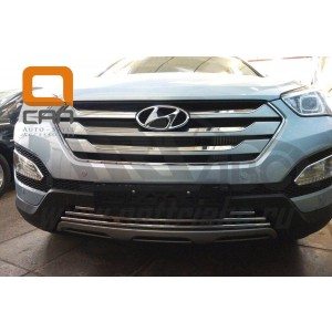 Can Otomotiv HYSA.27.1204 защита радиатора Hyundai Santa Fe (2012-2015)