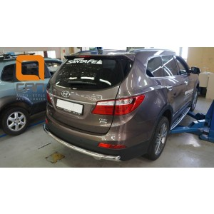 Can Otomotiv HYSA.57.3997 защита заднего бампера Hyundai Grand SantaFe (2013-) (одинарная) d60